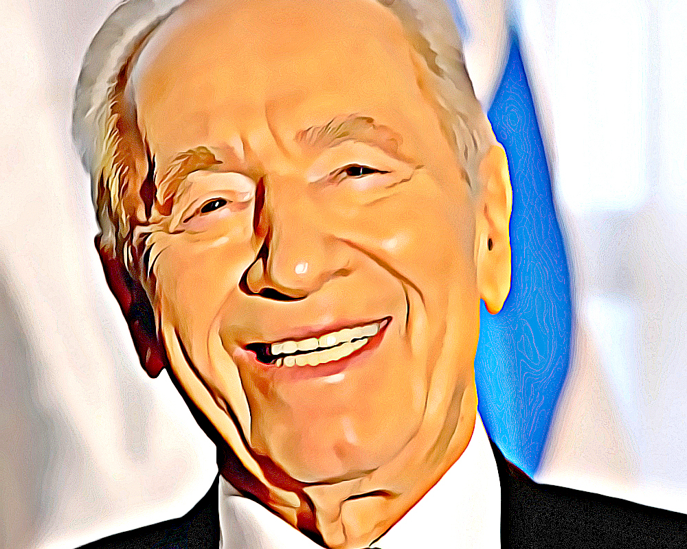 Shimon Peres was instrumental in the construction of a dynamic new nation.
